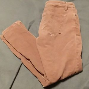 26/2 p relaxed skinny loft dusty pink pant